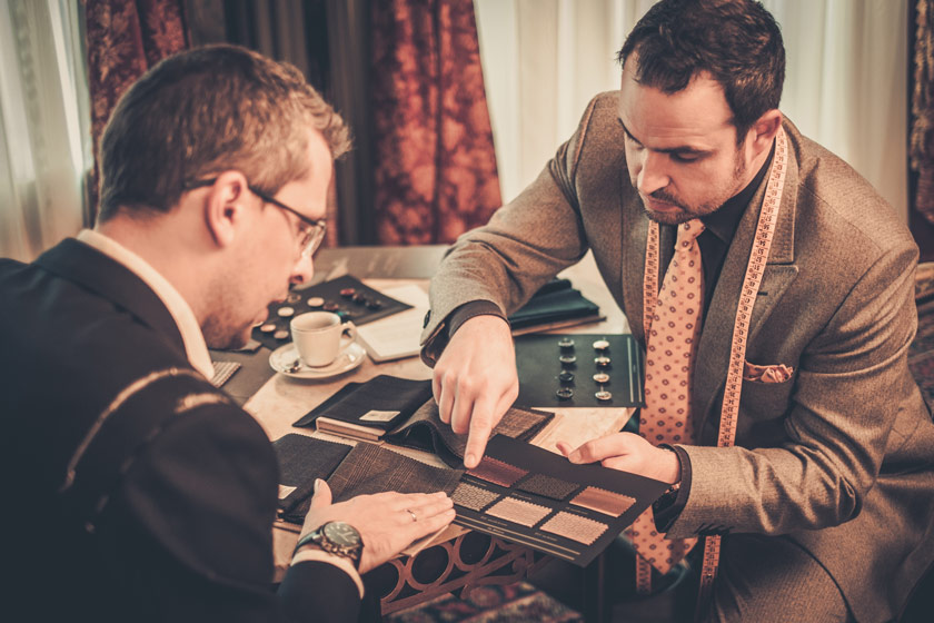 BESPOKE CLOTHING REFLECTS THE DISTINCT SENSE OF FASHION.